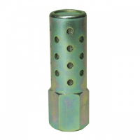 FHSFM - Female High Flow Steel Muffler