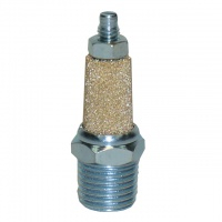 SPBMS- Sintered Bronze Muffler Flow Adjustment